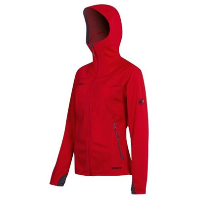 Mammut Ultimate Hoody Women inferno-dark inferno