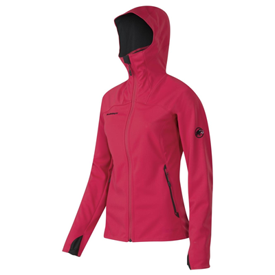 Mammut Ultimate Hoody Women light carmine-black