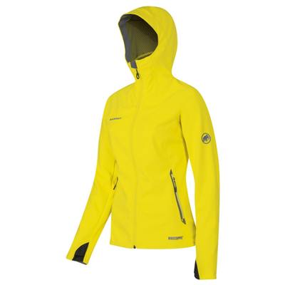 Mammut Ultimate Hoody Women sunglow-sunglow