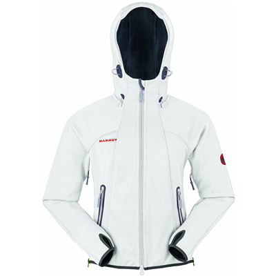 Mammut Ultimate Hoody Women white-grey