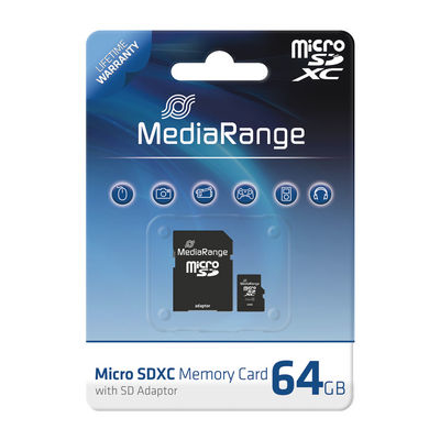 MediaRange 64GB MicroSDXC (MR955)