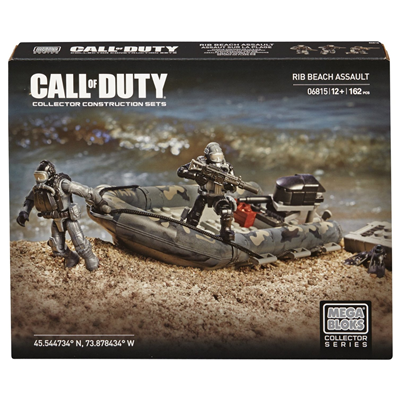 Mega Bloks Call of Duty: RIB Beach Assault