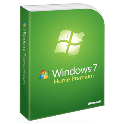 Microsoft OEM Windows 7 Home Premium 64-bit, 1pk, IT