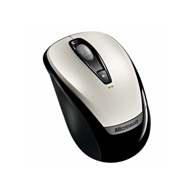 Microsoft Wireless Mobile Mouse 3000 weiß