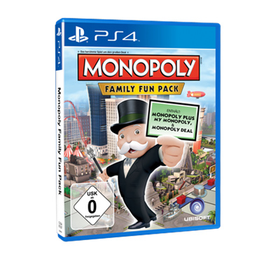 Monopoly Family Fun Pack, PS4
