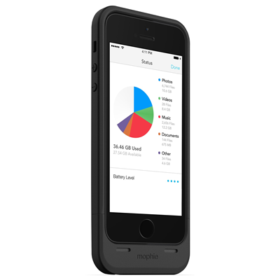 Mophie Space Pack (MP-2615_SP-IP5-16GB-BLK)