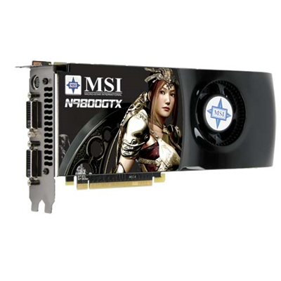 MSI GeForce N9800GTX-T2D512-OC (V801-474R)