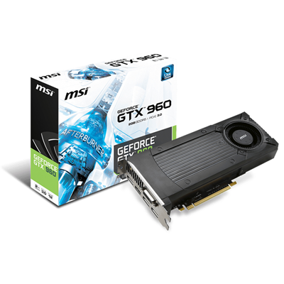 MSI GTX 960 2GD5 NVIDIA GeForce GTX 960 2048GB