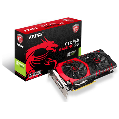 MSI GTX 960 GAMING 2G NVIDIA GeForce GTX 960 2GB