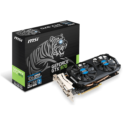 MSI GTX 970 4GD5T NVIDIA GeForce GTX 970 4096GB