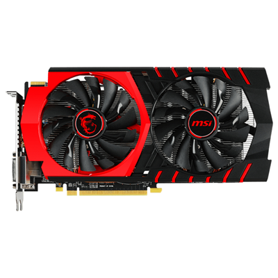 MSI R7 370 GAMING 4G AMD Radeon R7 370 4096GB
