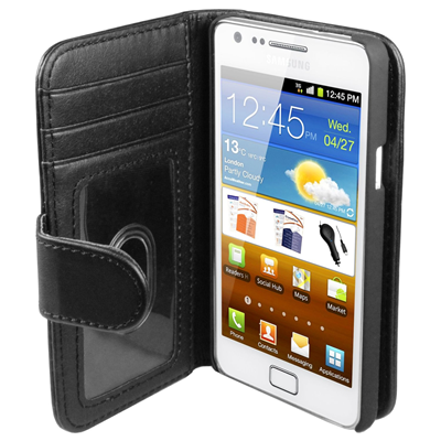 mumbi GALAXY S2 LEDER BOOK