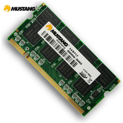 Mustang SO-DIMM 1GB DDR2-667 CL5 (128Mx8) PremiumLine (M5128647606NS)