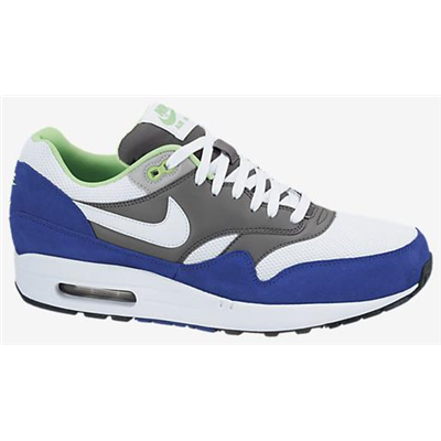 Nike Air Max 1 Essential Herren white/white/dark grey/hyper blue