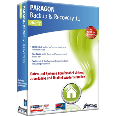 Paragon Backup & Recovery 11 Home