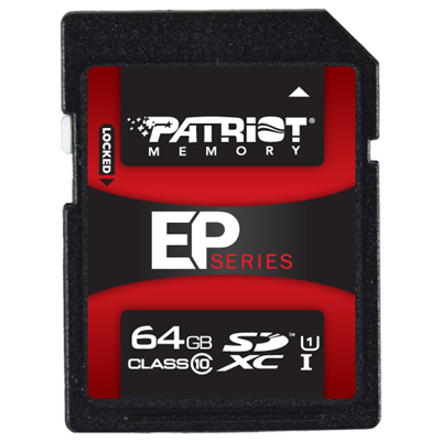Patriot Memory 64GB SDXC (PEF64GSXC10333)