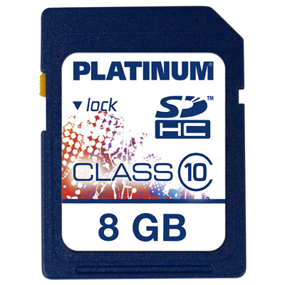 Platinum 8GB SDHC (177116)