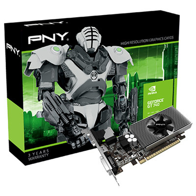 PNY GF740GT1GEPB NVIDIA GeForce GT 740 1GB