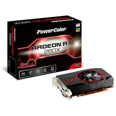 PowerColor R7 260X 1GB GDDR5 OC ATI Radeon R7 260X 1GB