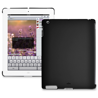 PURO Cover iPad2 (IPAD2BCOVERBLK)