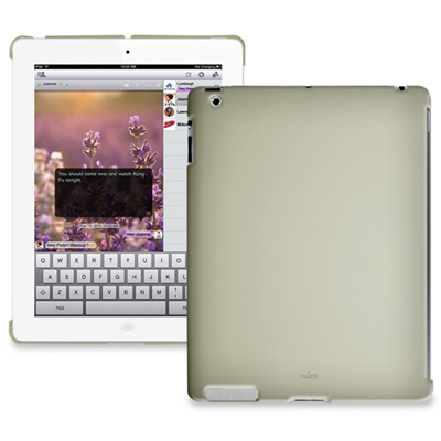 PURO Cover iPad2 (IPAD2BCOVERECRU)