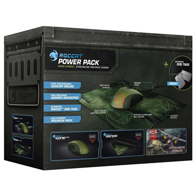 Roccat Kova Pure Military Bundle Camo Charge (ROC-16-225)