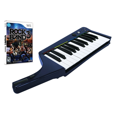 Rock Band 3 inkl. Keyboard, Wii