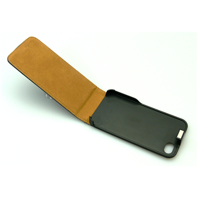 Sandberg Flip Cover 4/4S hard+leather