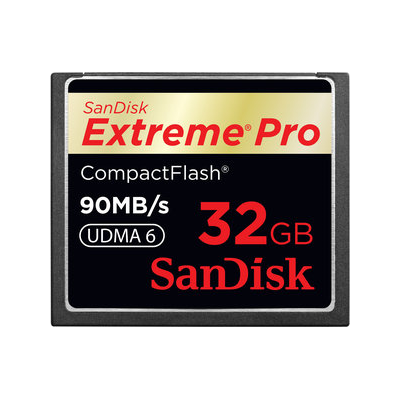 SanDisk CompactFlash Card Extreme Pro 32GB (SDCFXP-032G-E91)