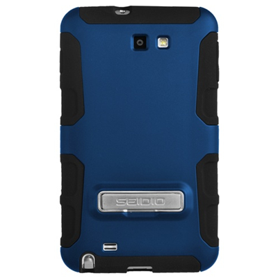 Seidio Dilex Case with Metal Kickstand for Samsung Galaxy Note N7000 - Royal Blue