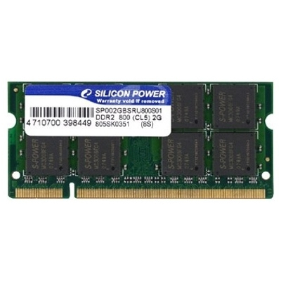 Silicon Power 1GB DDR2 667MHz SO-DIMM (SP001GBSRU667S02)