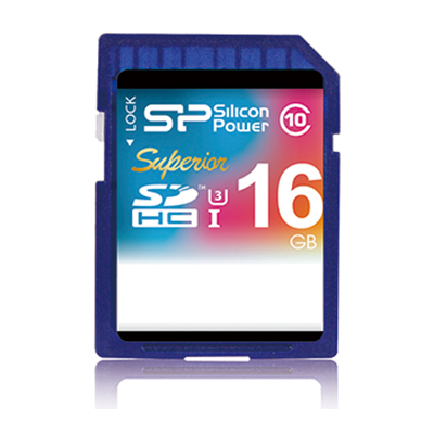 Silicon Power SDHC 16GB (SP016GBSDHCU3V10)