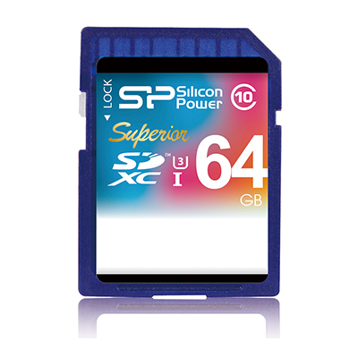 Silicon Power SDXC 64GB (SP064GBSDXCU3V10)