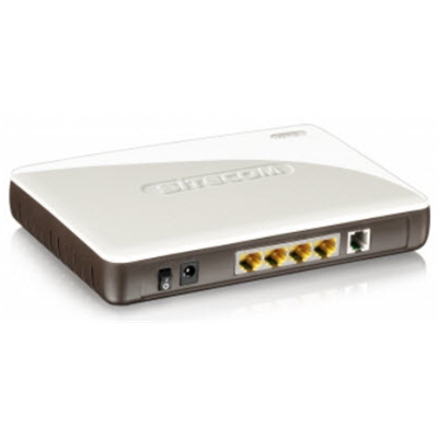 Sitecom Wireless Gigabit Modem Router N300 X4