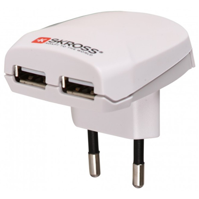 Skross Euro USB Charger (1.302402)