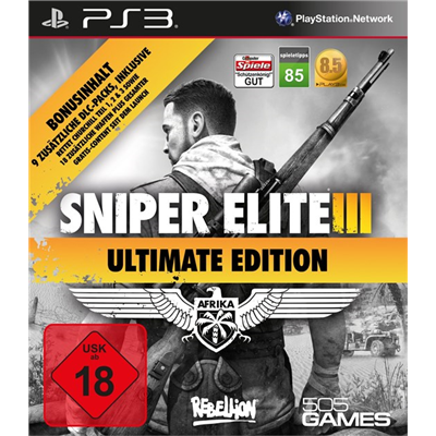 Sniper Elite III - Ultimate Edition, PS3