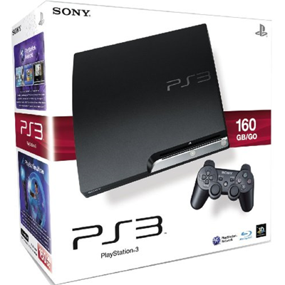 Sony Playstation 3 Slim 160 GB, PS3 Slim