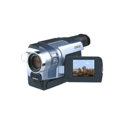 Sony TRV145 540.000 PixelsCCD 20x optical zoom 560x digital zoom