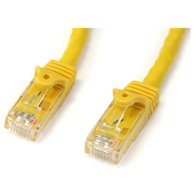 StarTech 15m gelbes Gigabit-Snagless-RJ45-UTP-Cat6-Patchkabel - 15 m Patchkabel