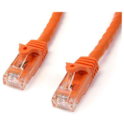 StarTech 2m Cat6 Gigabit Snagless Patchkabel - RJ45 UTP Netzwerkkabel - Orange