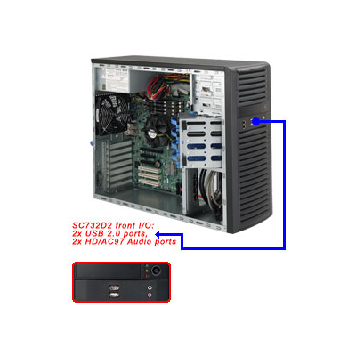 Supermicro SuperChassis 732D2-903B
