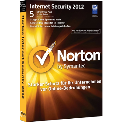 Symantec Norton Internet Security 2012, 5 User