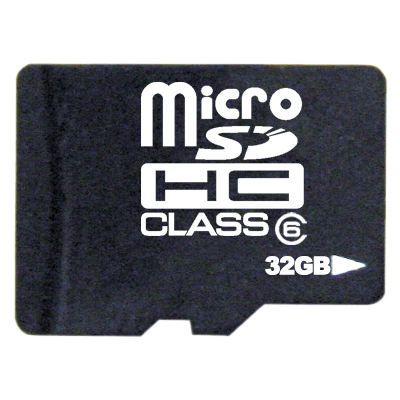 takeMS 32GB Micro SDHC Class 6 & Adapter (92788)