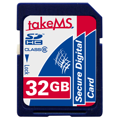 takeMS 32GB SDHC Card (88635)
