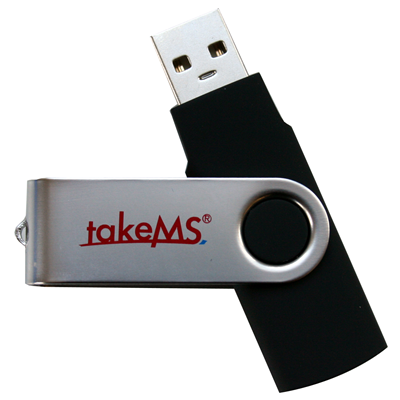 takeMS MEM-Drive Mini Rubber 16GB (88391)