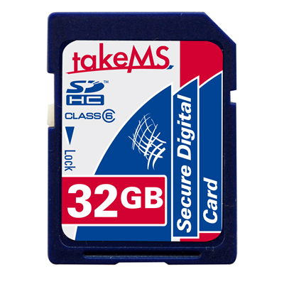 TakeMS SDHC Card Class6 32GB (MS32GSDC-HC6R)