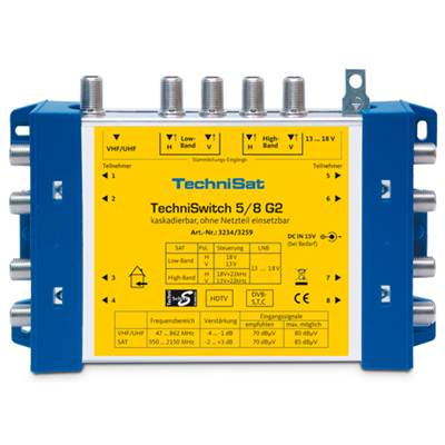 TechniSat TechniSwitch 5/8 G2 (3234/3259)