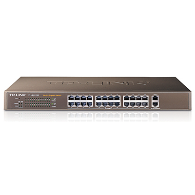 TP-LINK 24-Port 10/100Mbps + 2-Port Gigabit Switch (TL-SL1226)