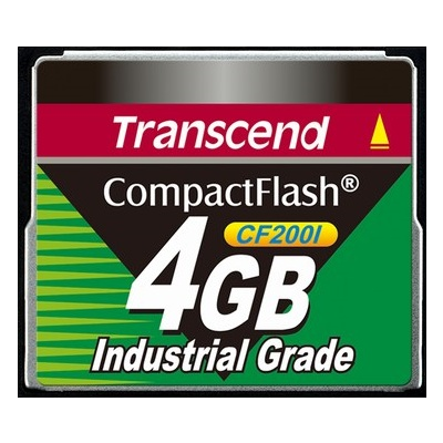 Transcend CompactFlash Card Industrial Grade 4GB (TS4GCF200I)