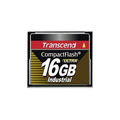 Transcend CompactFlash Card Industrial Ultra 16GB (TS16GCF100I)